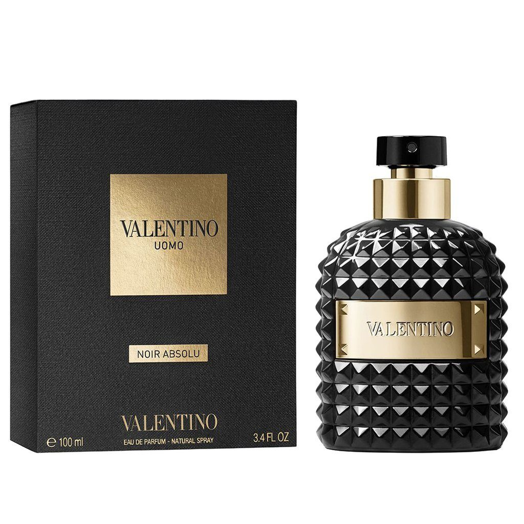 MENS FRAGRANCES - Valentino Uomo Noir Absolu 3.4 Oz EDP For Men