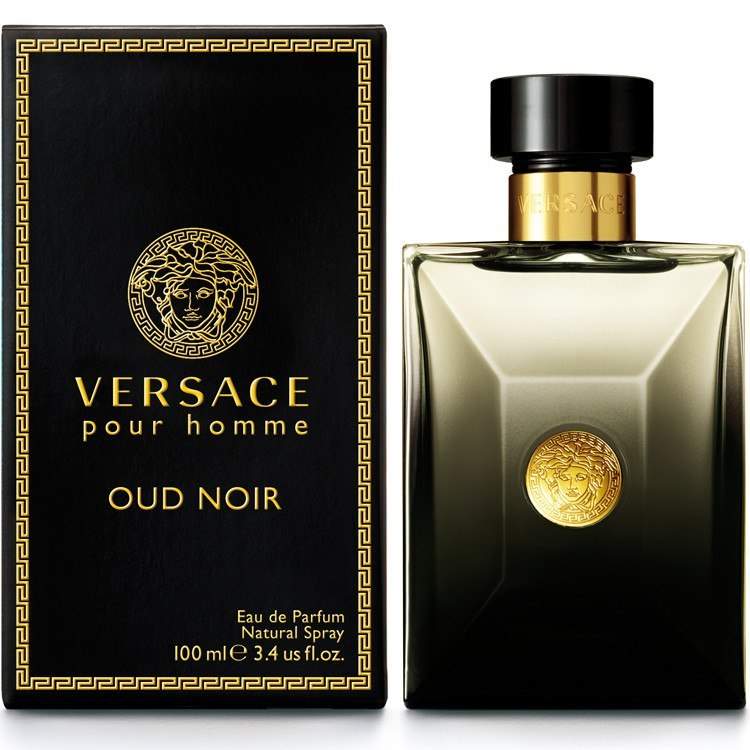 MENS FRAGRANCES - Versace Homme Oud Noir 3.4 EDP For Men