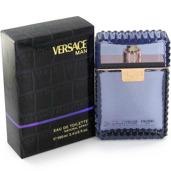 MENS FRAGRANCES - Versace Man 3.4 Oz EDT For Men