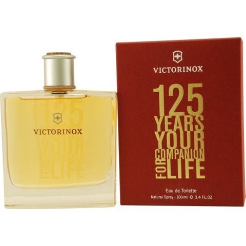 Victorinox 125 Years 3.4 oz EDT for men