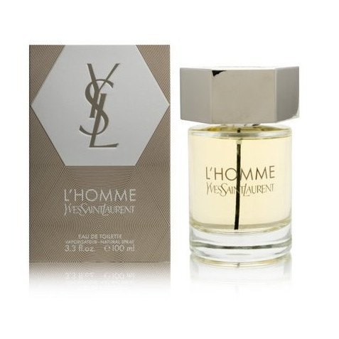 MENS FRAGRANCES - YSL Pour Homme 3.4 Oz EDT For Men