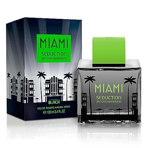 Miami Seduction Black EDT 2.4 oz for men