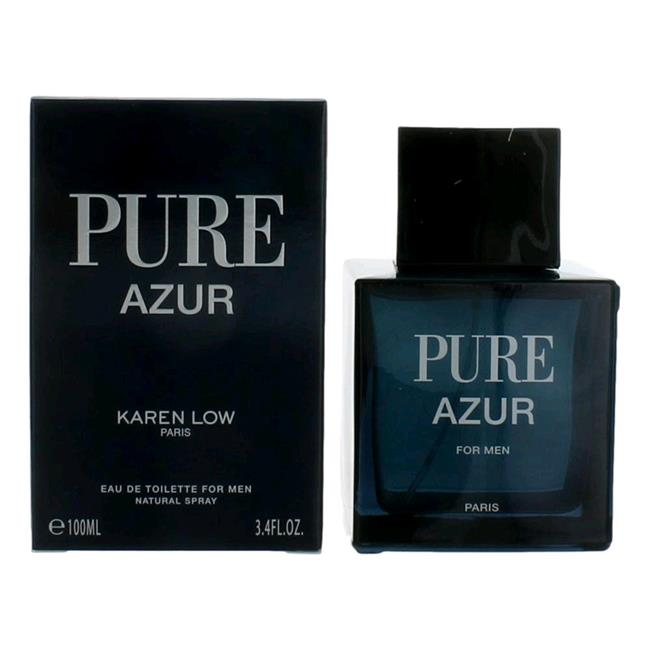 Pure Azur 3.4 oz EDT for men