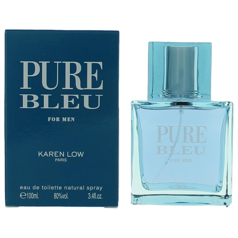Pure Bleu 3.4 oz EDT for men