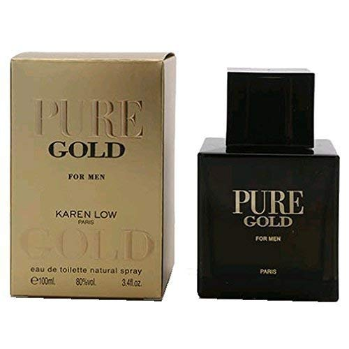 Pure Gold 3.4 oz EDT for men