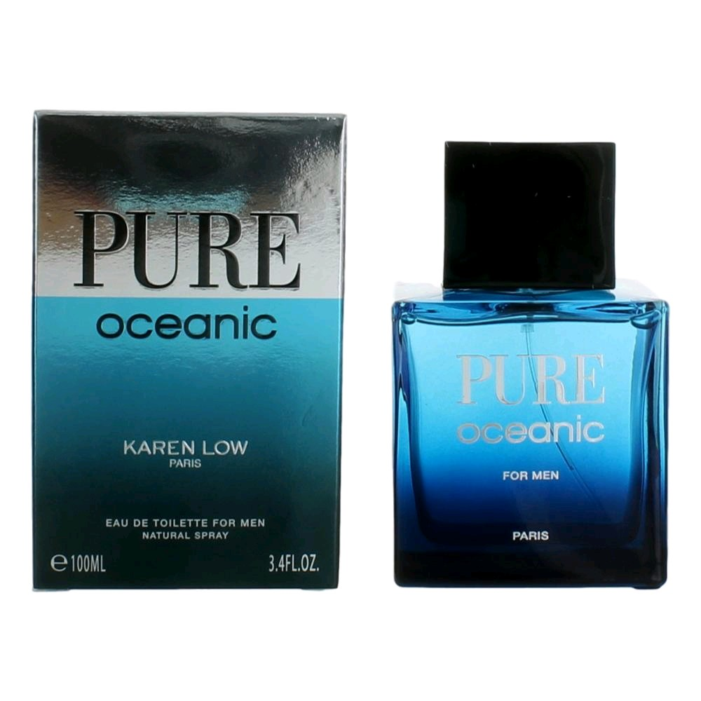 Pure Oceanic 3.4 oz EDT for men