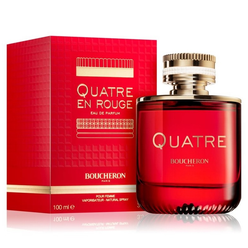 Quatre en Rouge 3.3 oz EDP for women