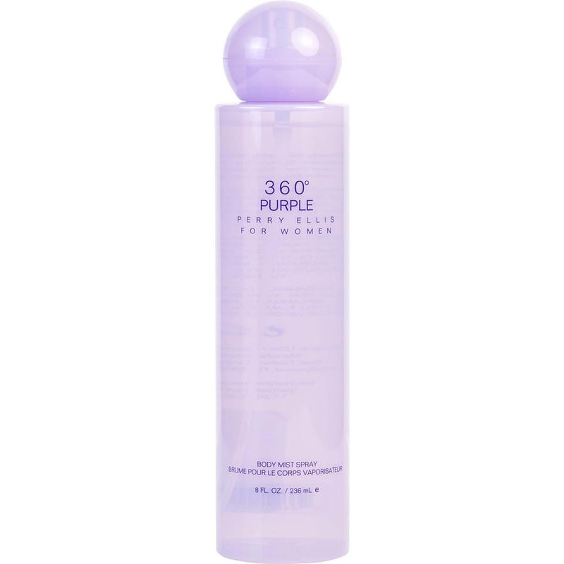 SKIN AND BEAUTY - 360 Purple Perry Ellis 8 Oz Body Spray For Woman