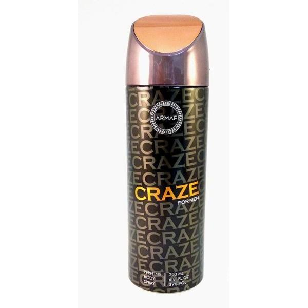 SKIN AND BEAUTY - ARMAF Craze Body Spray 6.8 Oz For Men