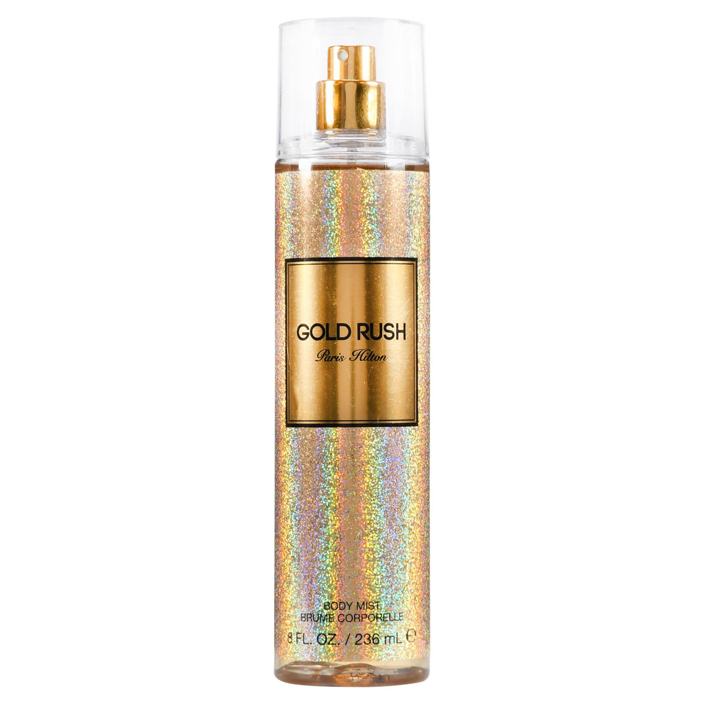 SKIN AND BEAUTY - Paris Hilton Gold Rush Body Mist 8 Oz For Woman