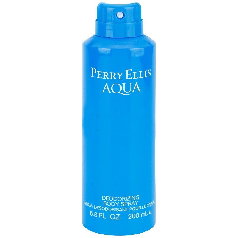 SKIN AND BEAUTY - Perry Ellis Aqua 6.8 Oz Deodorizing Body Spray For Men
