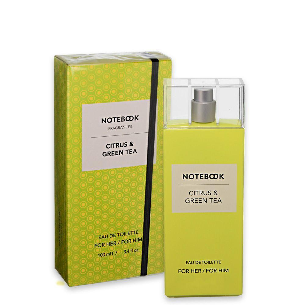 UNISEX FRAGRANCES - Notebook Citrus & Green Tea 3.4 Oz EDT For Men