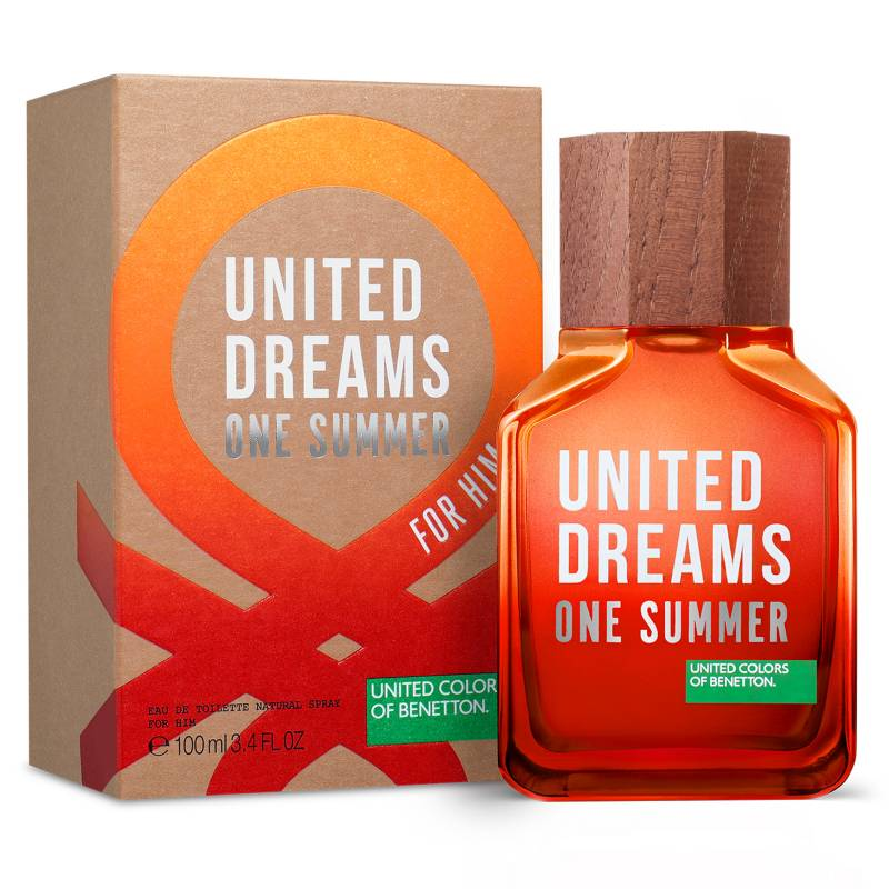 United Dreams One Summer For Him 3.4 oz EDT for men