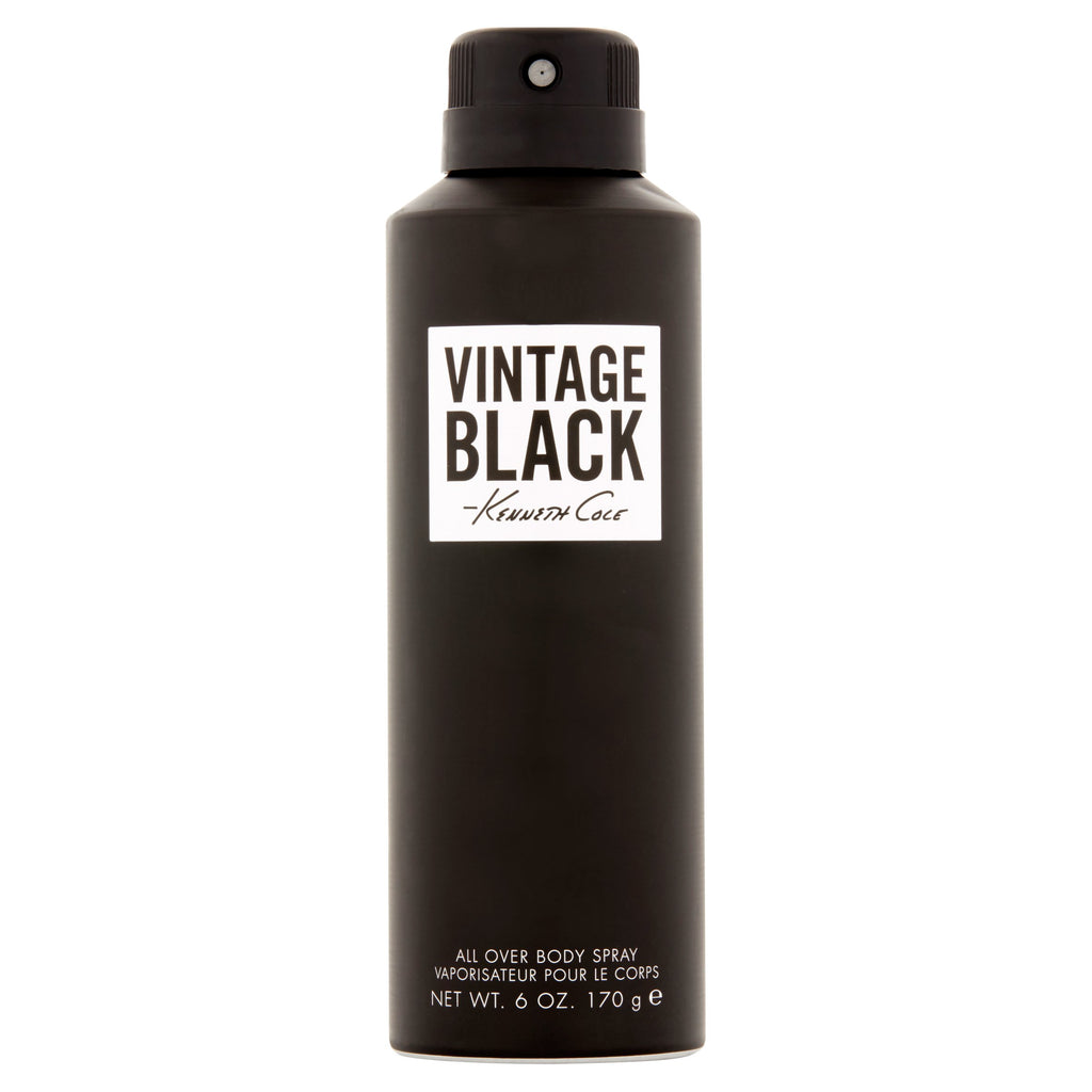Vintage Black 6 oz Body Spray for men