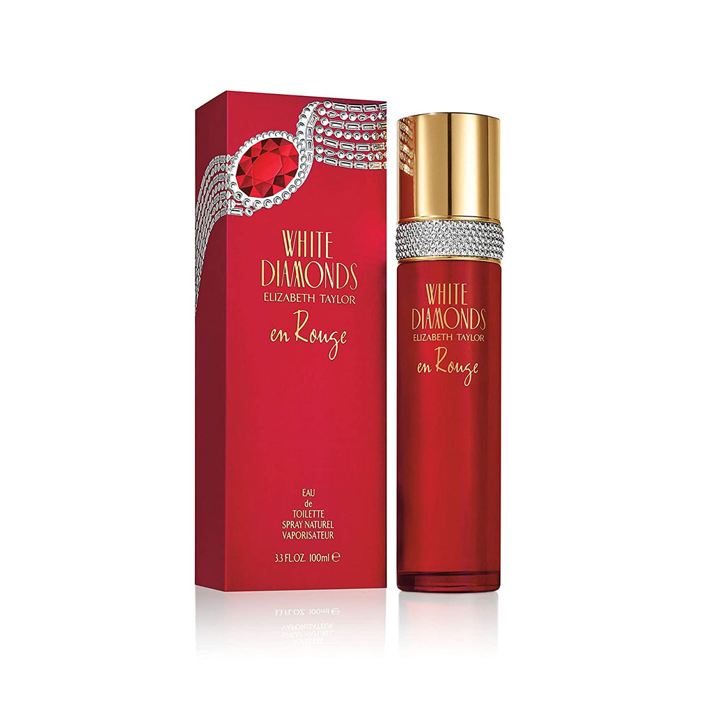 White Diamonds en Rouge 3.4 oz for woman