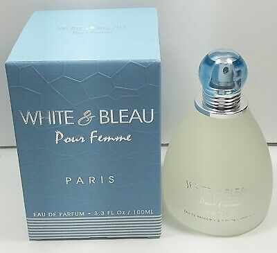 White & Blue 3.3 oz EDP for women