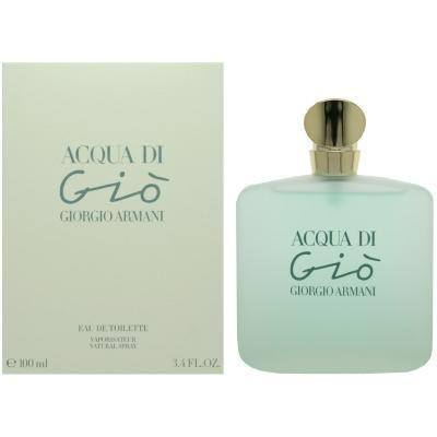 Acqua di Gio 3.4 oz EDT for women  ARMANI WOMENS FRAGRANCES - LaBellePerfumes
