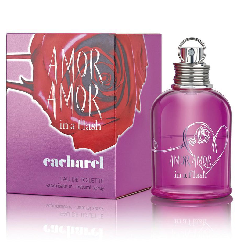 WOMENS FRAGRANCES - Amor Amor In A Flash 3.4 Oz EDT For Women