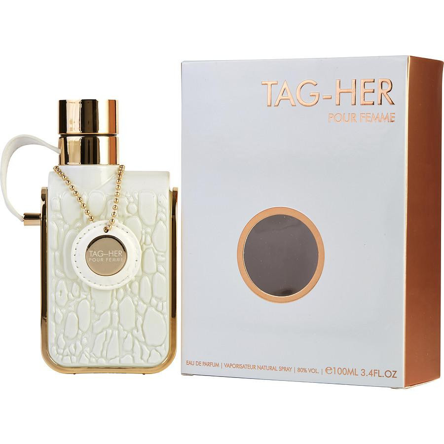 WOMENS FRAGRANCES - ARMAF Tag Her 3.4 Oz EDP For Women
