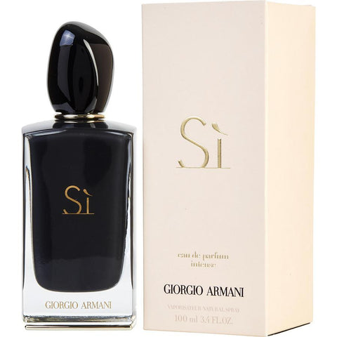 Armani Si Intense 3.4 oz EDP for women  GIORGIO ARMANI WOMENS FRAGRANCES - LaBellePerfumes