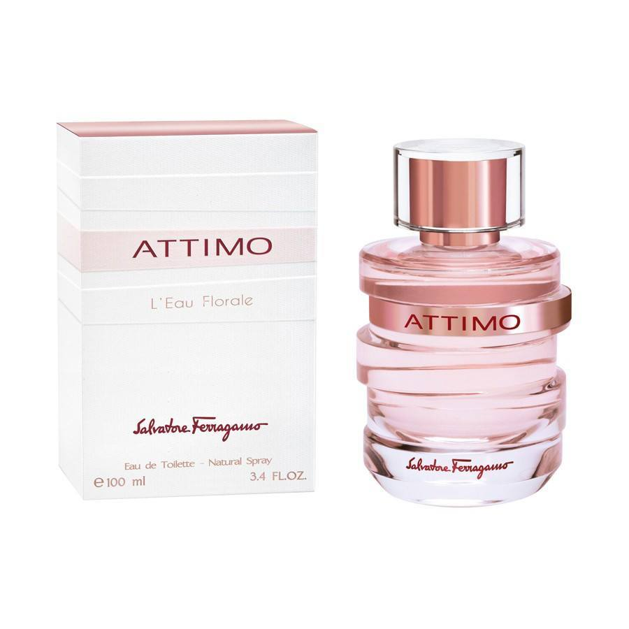 Attimo L'Eau Floral 3.4 oz EDT for women  SALVATORE FERRAGAMO WOMENS FRAGRANCES - LaBellePerfumes