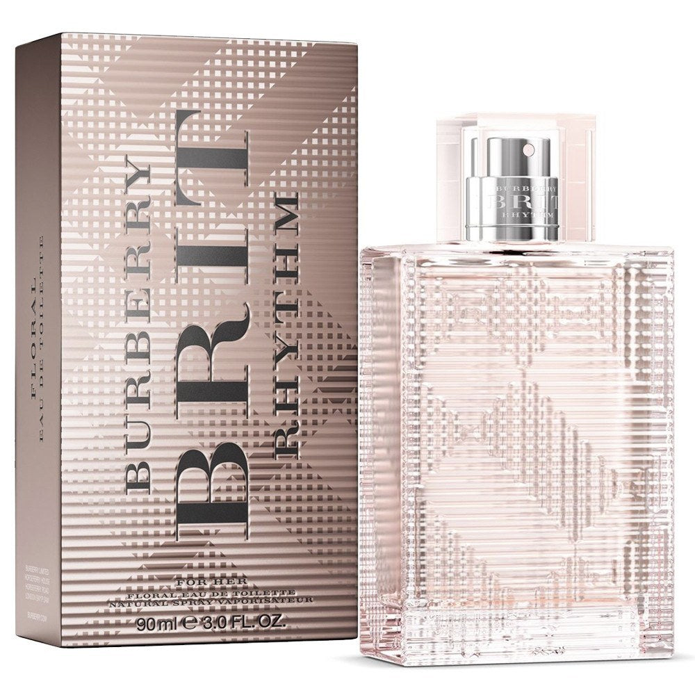 Brit Rhythm Floral 3.0 oz EDT for women  BURBERRY WOMENS FRAGRANCES - LaBellePerfumes