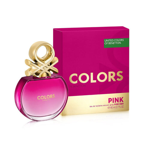 WOMENS FRAGRANCES - Colors De Benetton Pink 2.7 Oz EDT For Women