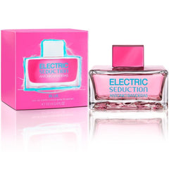 WOMENS FRAGRANCES - Electric Seduction Blue 3.4 Oz EDT For Women