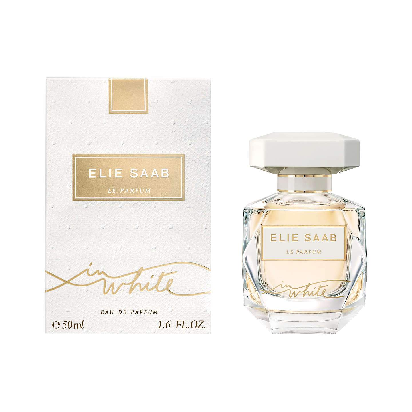 WOMENS FRAGRANCES - Elie Saab In White 3.0 Oz EDP For Woman