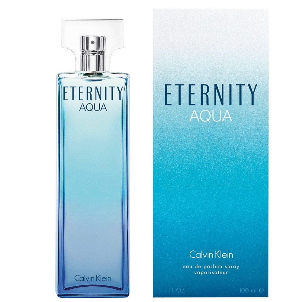 WOMENS FRAGRANCES - Eternity Aqua 3.4 EDP For Women