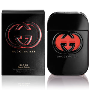 WOMENS FRAGRANCES - Gucci Gilty Black 2.5 Oz EDT For Women