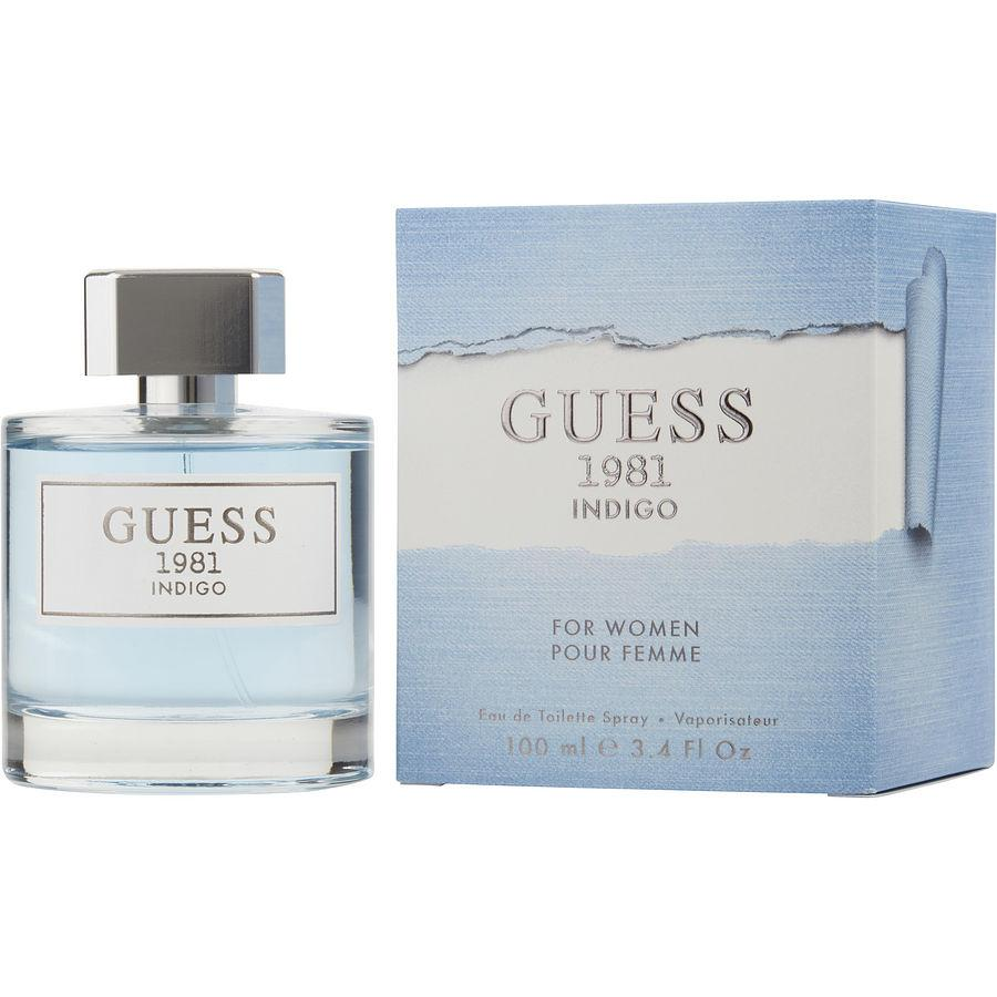 WOMENS FRAGRANCES - Guess 1981 Indigo 3.4 Oz EDT For Woman