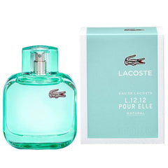 WOMENS FRAGRANCES - Lacoste L.12.12 Pour Elle Natural 3.0 Oz EDT For Women