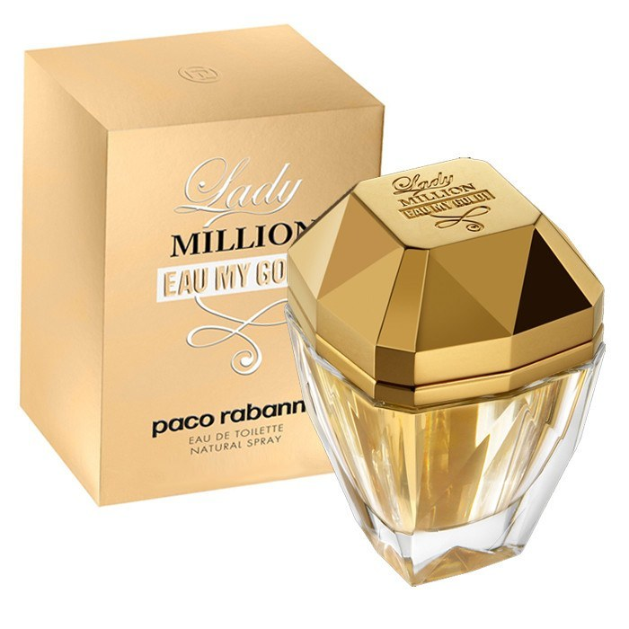 WOMENS FRAGRANCES - Lady Million Eau My Gold 2.7 EDT For Women