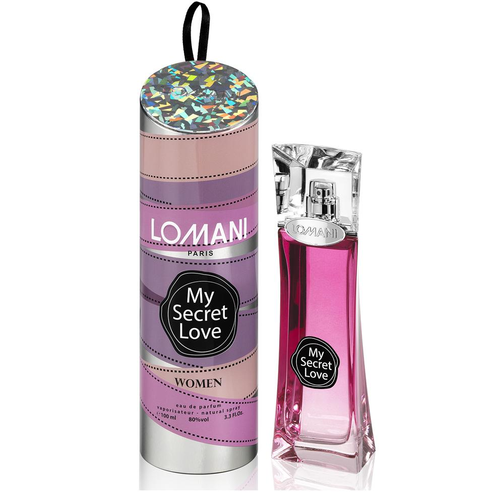 WOMENS FRAGRANCES - Lomani My Secret Love 3.3 Oz EDP For Woman