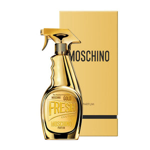 WOMENS FRAGRANCES - Moschino Fresh Gold 3.4 Oz EDP For Woman
