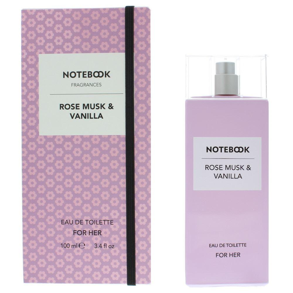 WOMENS FRAGRANCES - Notebook Rose Musk & Vanilla 3.4 Oz EDT For Woman