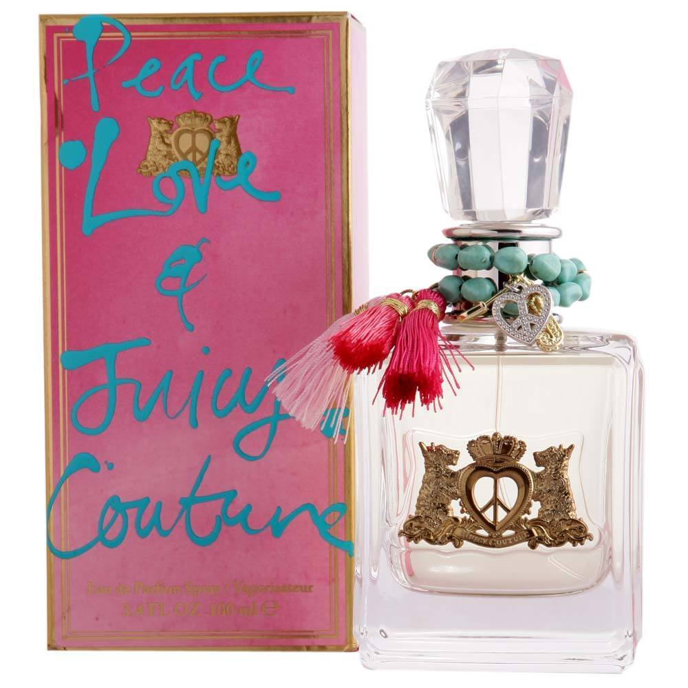 WOMENS FRAGRANCES - Peace Love And Juicy 3.4 Oz EDP For Women