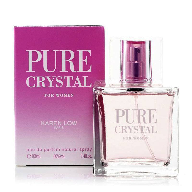 WOMENS FRAGRANCES - Pure Crystal 3.4 Oz EDP For Women