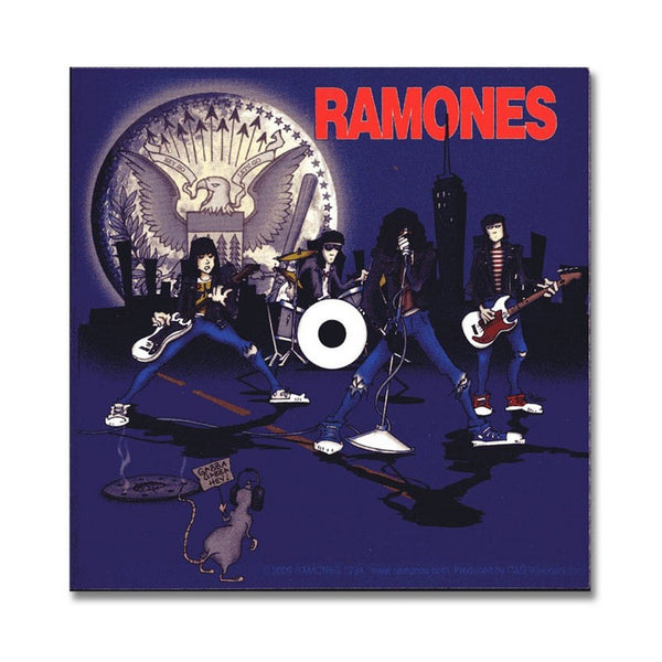 Ramones: Cartoon Sticker