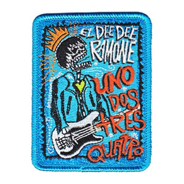 Dee Dee Ramone Uno Dos Patch