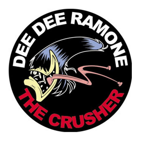 Dee Dee Ramone Crusher Sticker