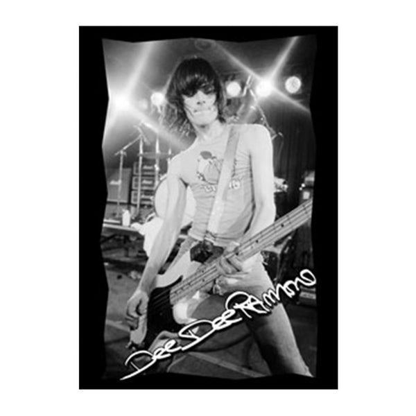 Dee Dee Ramone Photo Sticker