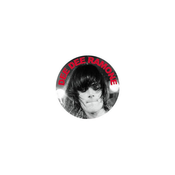 Dee Dee Ramone Photo Button