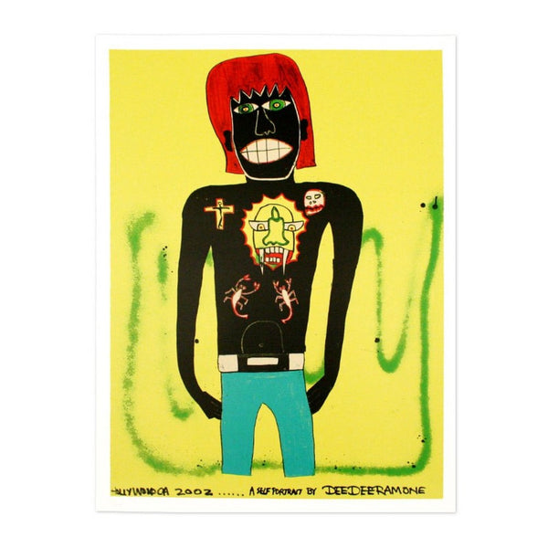 Dee Dee Ramone Self Portrait
