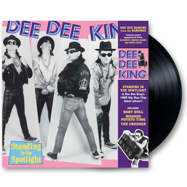 "Dee Dee King ""Standing in the Spotlight"" 12"" Vinyl LP (Ltd Ed Reissue)"