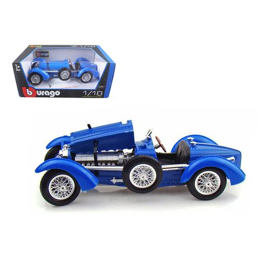 1934 Bugatti Type 59 Blue 1/18 Diecast Model Car
