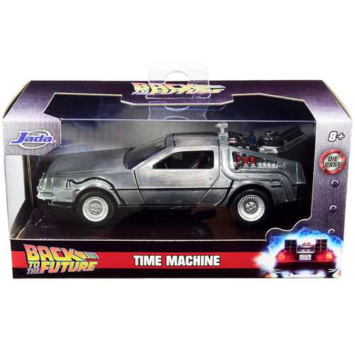DeLorean DMC (Time Machine) Silver