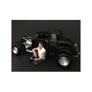 50's Style Figurine V for 1/24 Scale Models by American Diorama