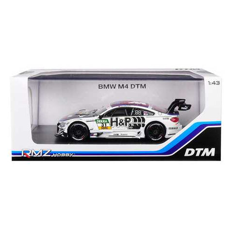"BMW M4 DTM #31 ""H&R"" 1/43 Diecast Model Car by RMZ City"